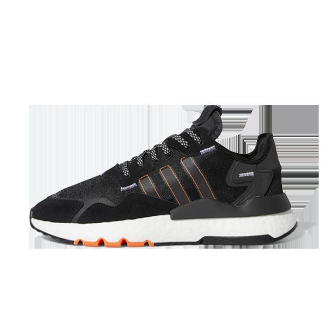 adidas Nite Jogger 'Black/Orange'