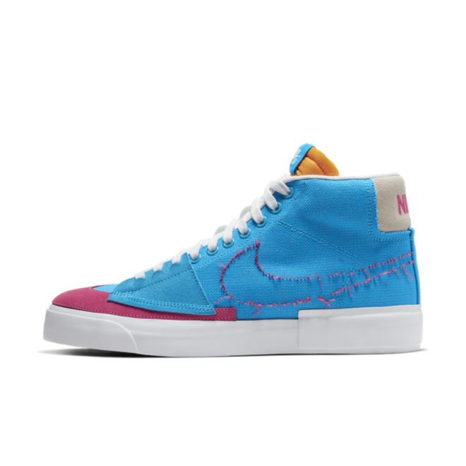 Nike SB Blazer Mid Edge 'Hack Pack-Blue/Pink'