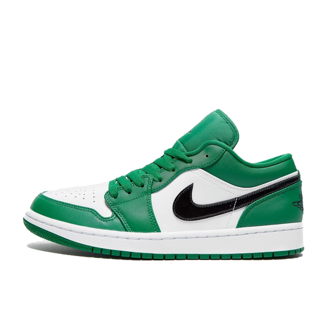 Air Jordan 1 Low 'Pine Green' zijaanzicht