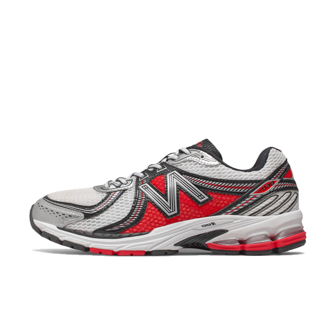 New Balance Ml860 'Red/Silver' zijaanzicht