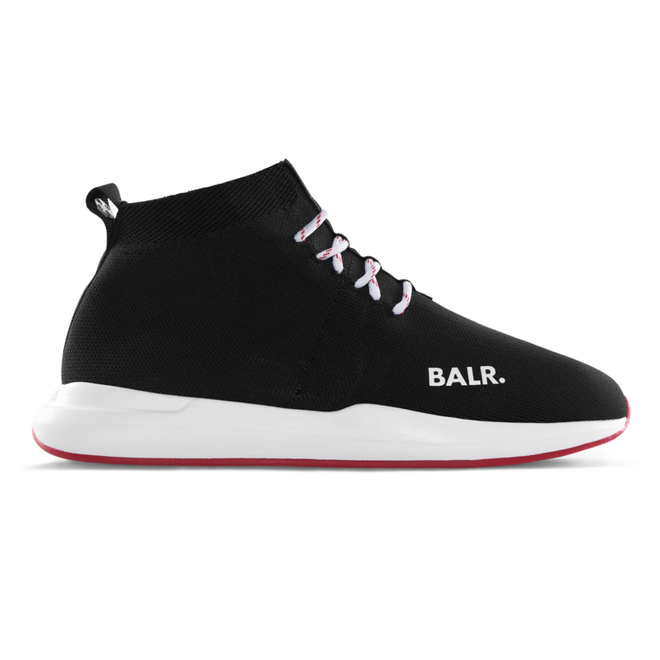 BALR. EE Premium Sock Sneakers Black/Red