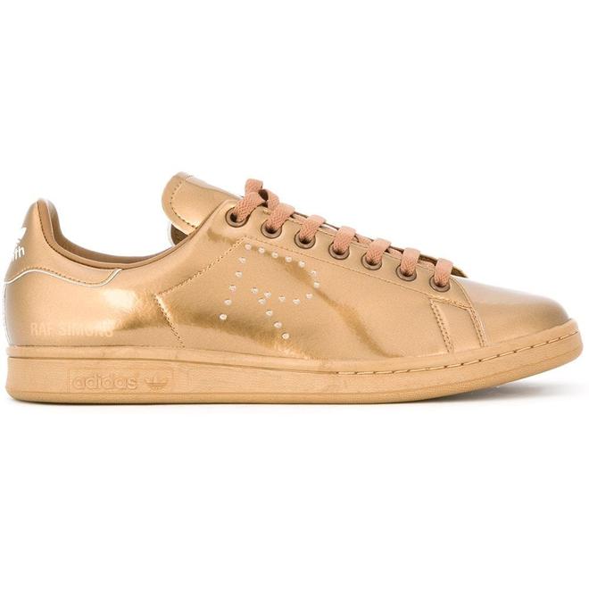 adidas stan smith snakeskin gold