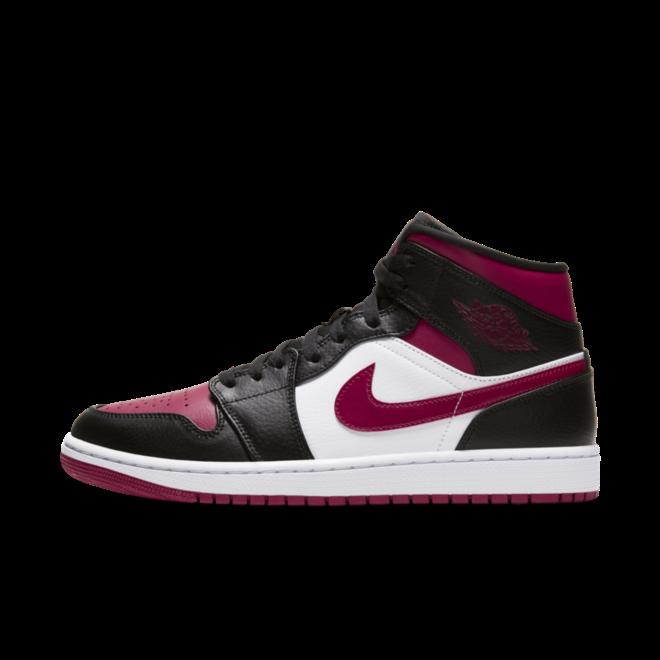 Air Jordan 1 Mid 'Bred Toe'