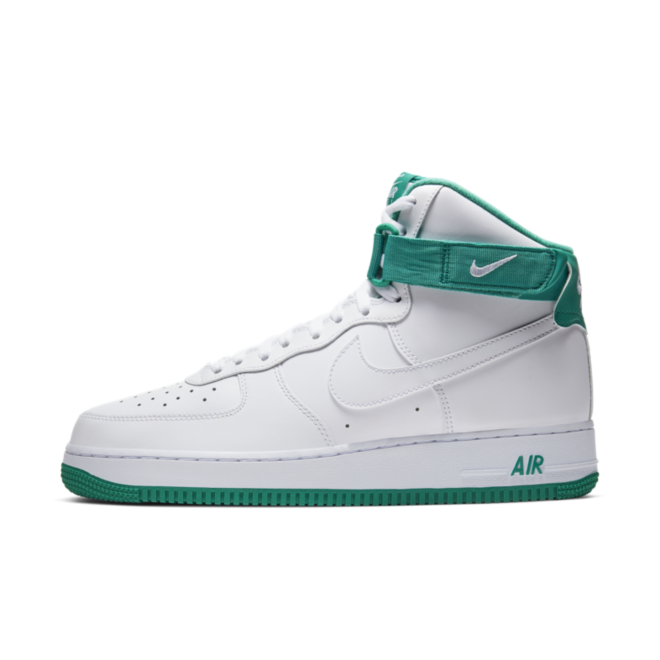 Nike Air Force 1 High 'Neptune Green' zijaanzicht