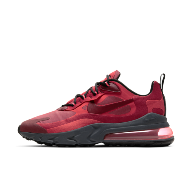 Nike Air Max 270 React 'Red/Grey' zijaanzicht