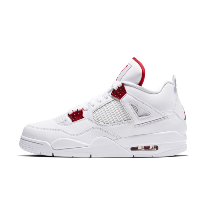 Air Jordan 4 Retro 'University Red' zijaanzicht