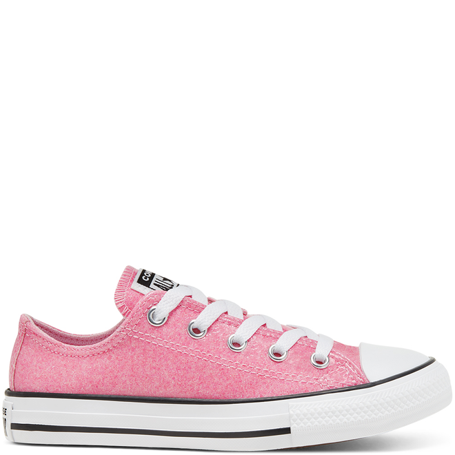Coated Glitter Chuck Taylor All Star Low Top voor kids