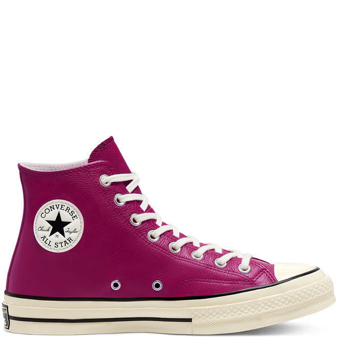 Unisex Seasonal Color Leather Chuck 70 High Top
