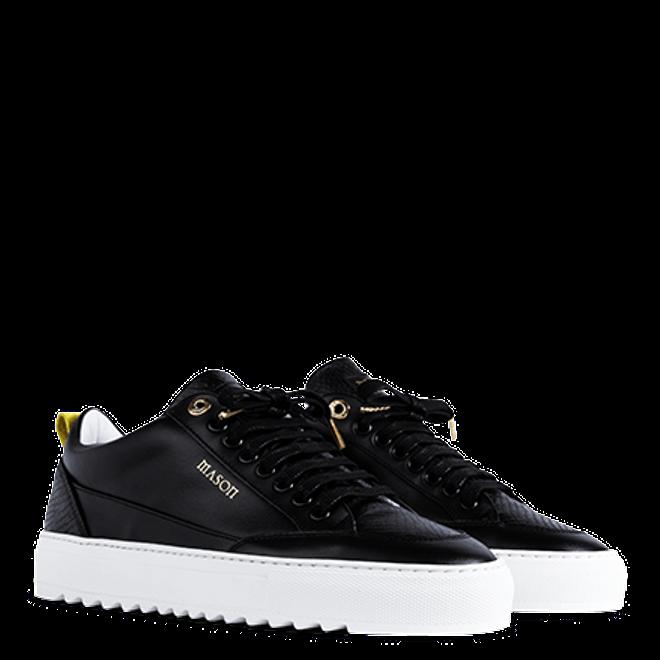 Mason Garments Tia Leather/Python Black