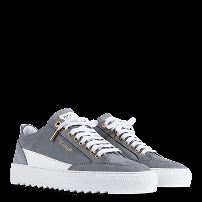 Mason Garments Tia Nubuck/Leather Grey