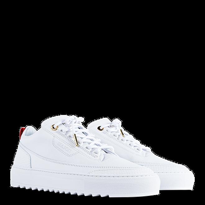 Mason Garments Firenze Leather/Stampato White