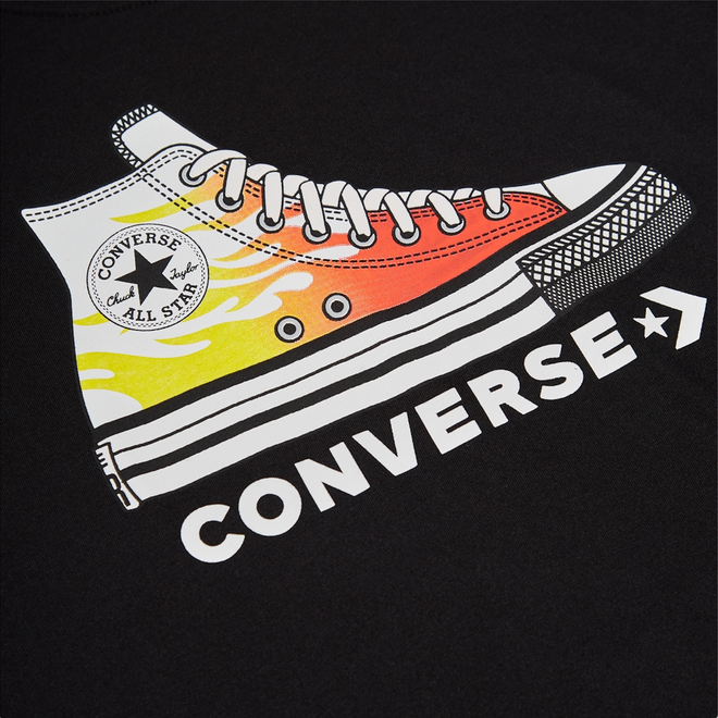Coated Glitter Easy-On Chuck Taylor All Star Low Top voor peuters