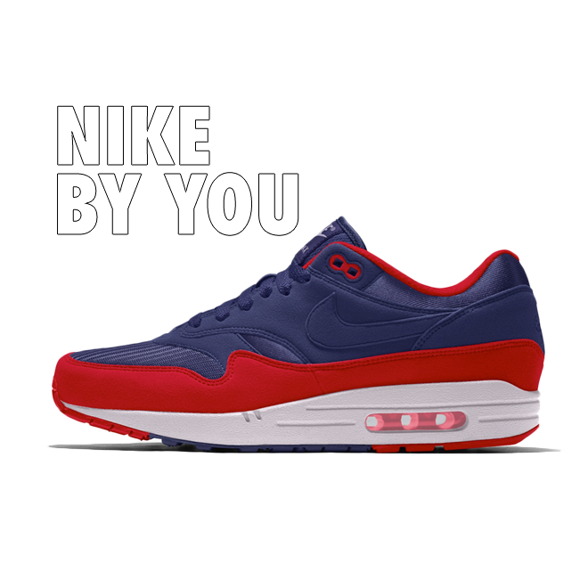 Nike Air Max 1 'By You' zijaanzicht