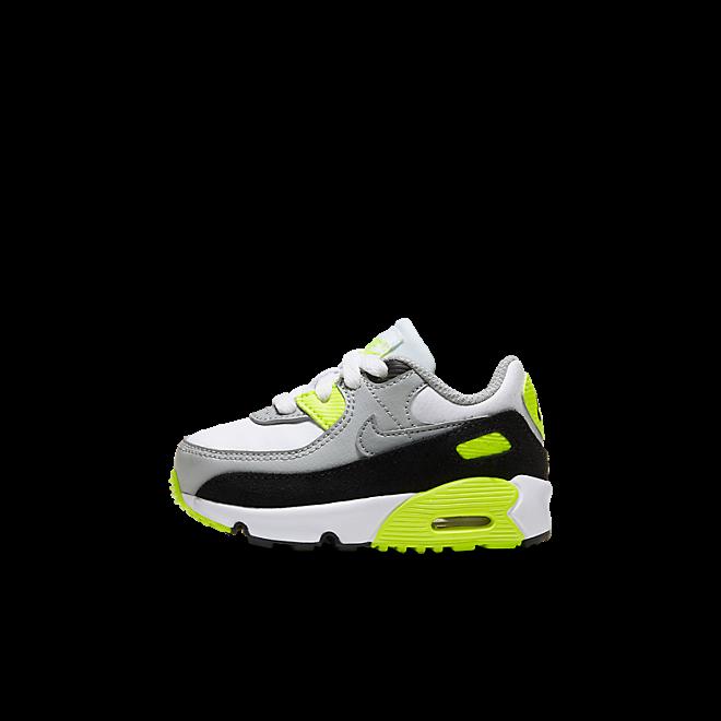Nike Air Max 90 Kids Baby OG 'Volt' zijaanzicht