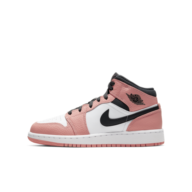 Air Jordan 1 Mid GS 'Pink' | 555112-603