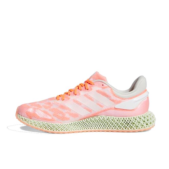 adidas 4D Run 1.0 'Signal Coral' zijaanzicht