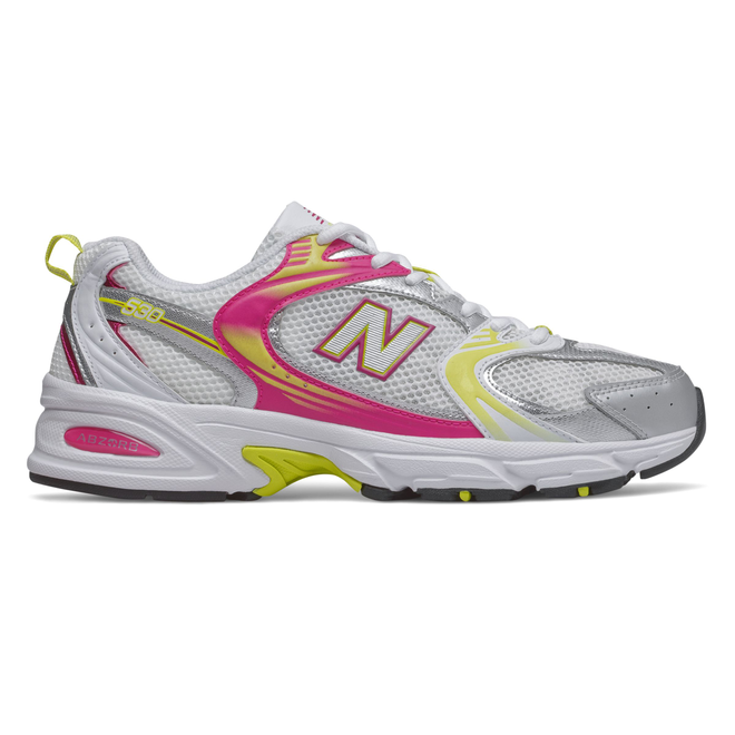New Balance 530 Womens White / Pink / Yellow Trainers | MR530CA1 |  Sneakerjagers
