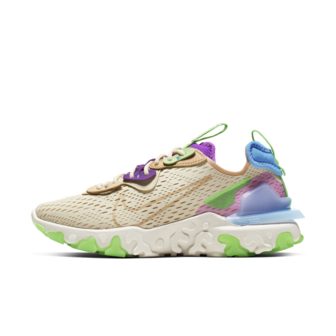 Nike React Vision D/MS/X 'Beige/Green'