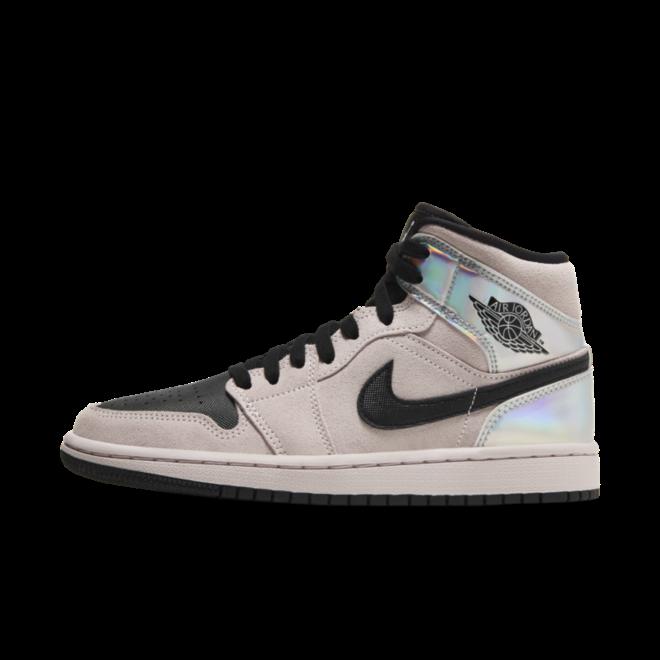 Air Jordan 1 Mid 'Pink' zijaanzicht