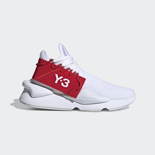 adidas originals Y-3 KAIWA KNIT FOOTWEAR WHITE