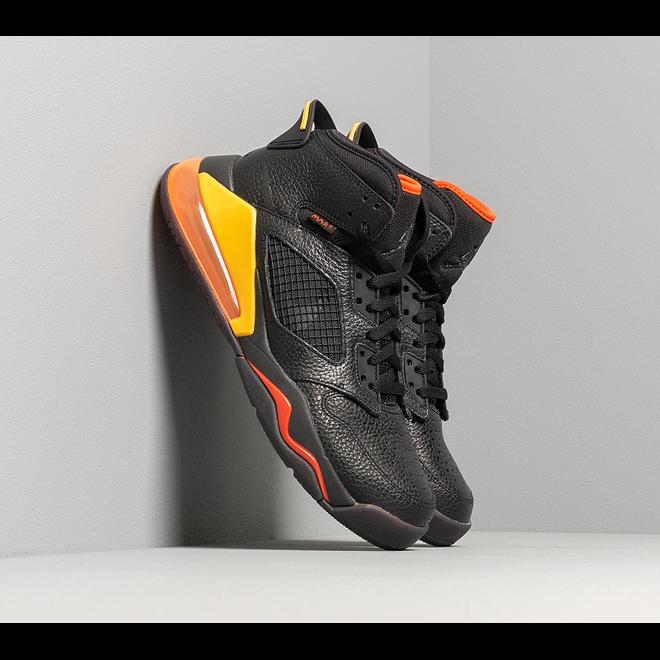 Jordan Mars 270 Black/ Black-Team Orange-Amarillo
