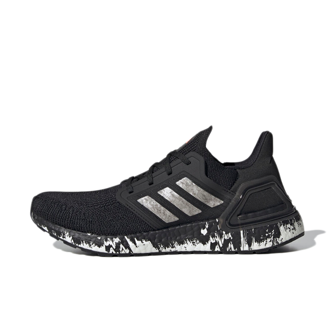 adidas UltraBOOST 20 'Black Marble' zijaanzicht