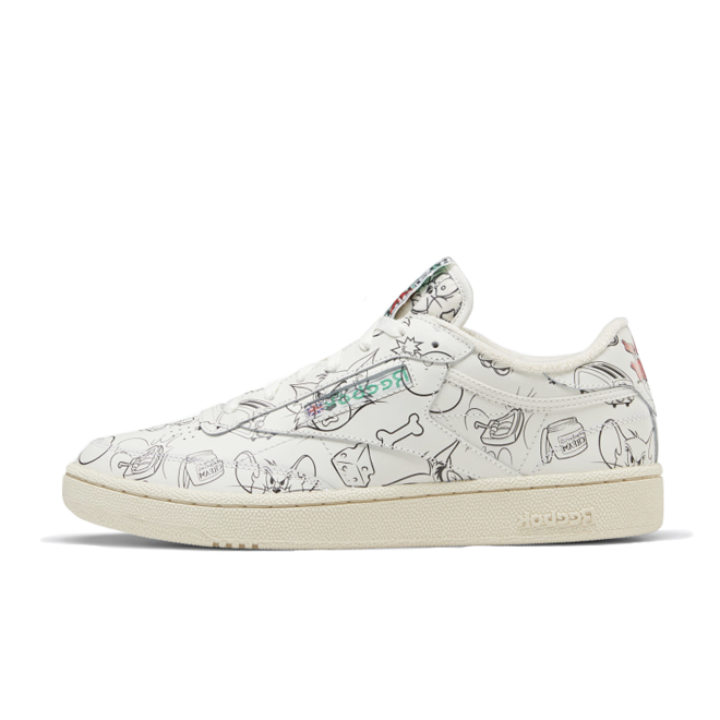 Tom & Jerry X Reebok Club C 85