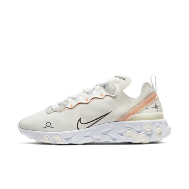 Nike React Element 55 Schematic 'Orange'