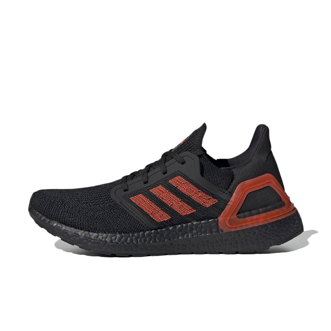 adidas Ultraboost 20 'Black/Red' zijaanzicht