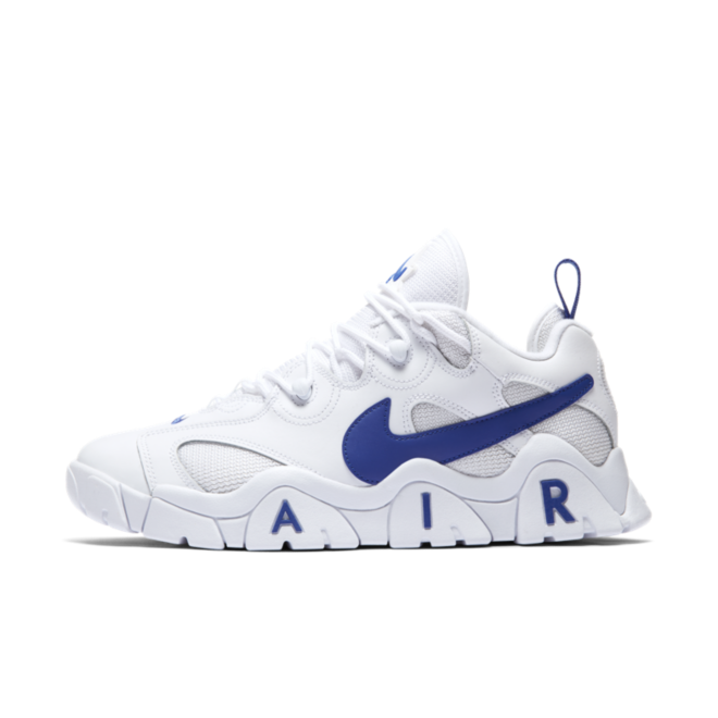 Nike Air Barrage 'White/Blue' zijaanzicht