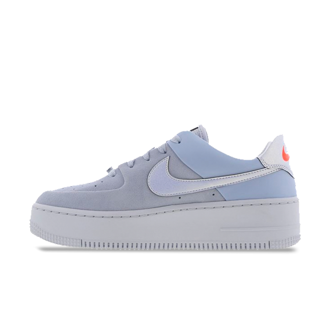 Nike Air Force Sage 'Blue' zijaanzicht