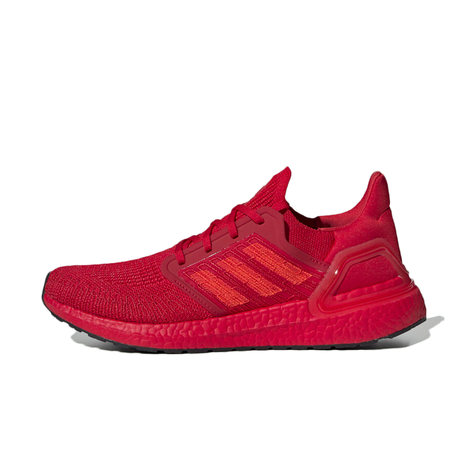adidas UltraBoost 20 'Triple Red' zijaanzicht