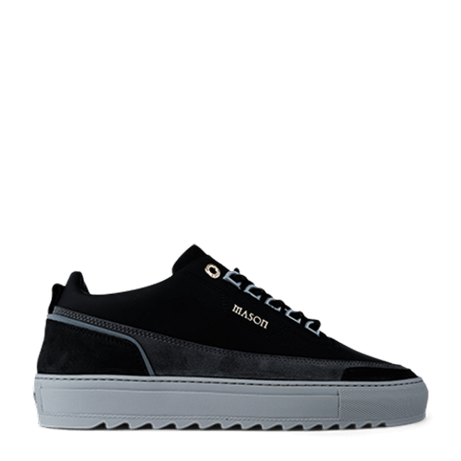 Mason Garments Firenze Gomma/Suede/Nubuck/Reflective Black/Asfalto/Cement