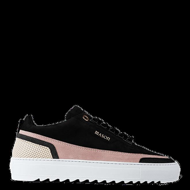Mason Garments Firenze Nubuck/Suede/Stamp Black/Pink/Creme/Black