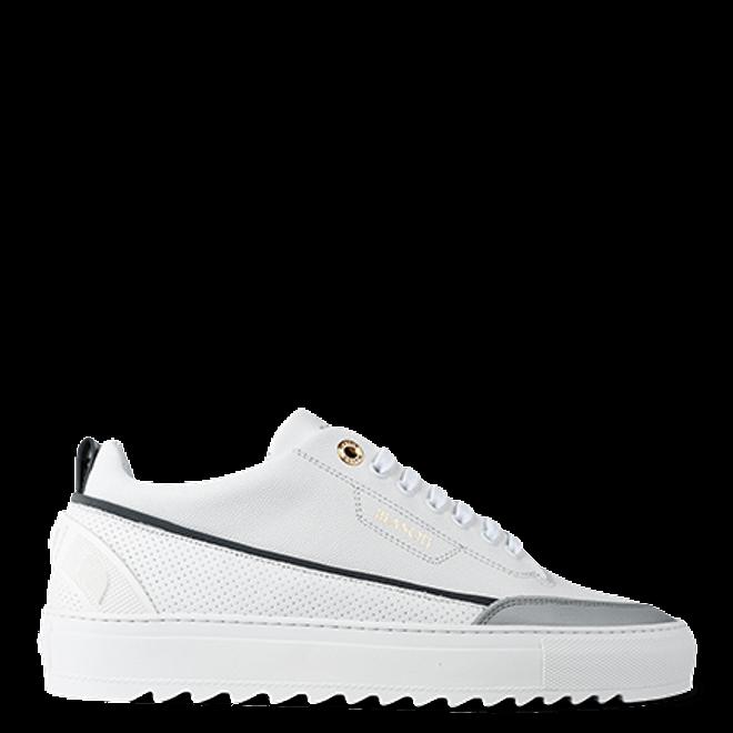 Mason Garments Torino Leather/Stamp/Reflective White/White/Cement