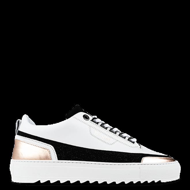 Mason Garments Firenze Leather/Glitter/Metallic White/Black/Rose