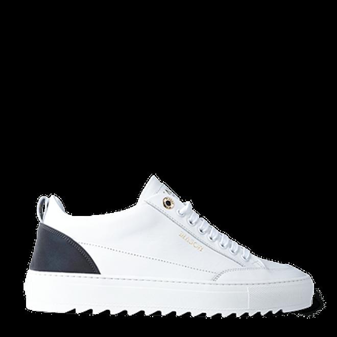 Mason Garments Tia Leather/Reflective White/Rainbow