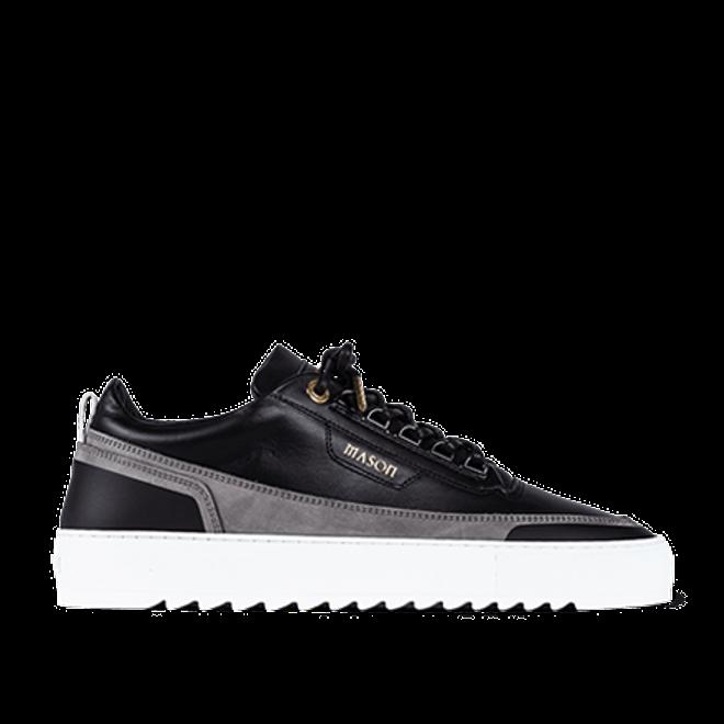 Mason Garments Firenze Leather/Nubuck/Suede Black/Grey