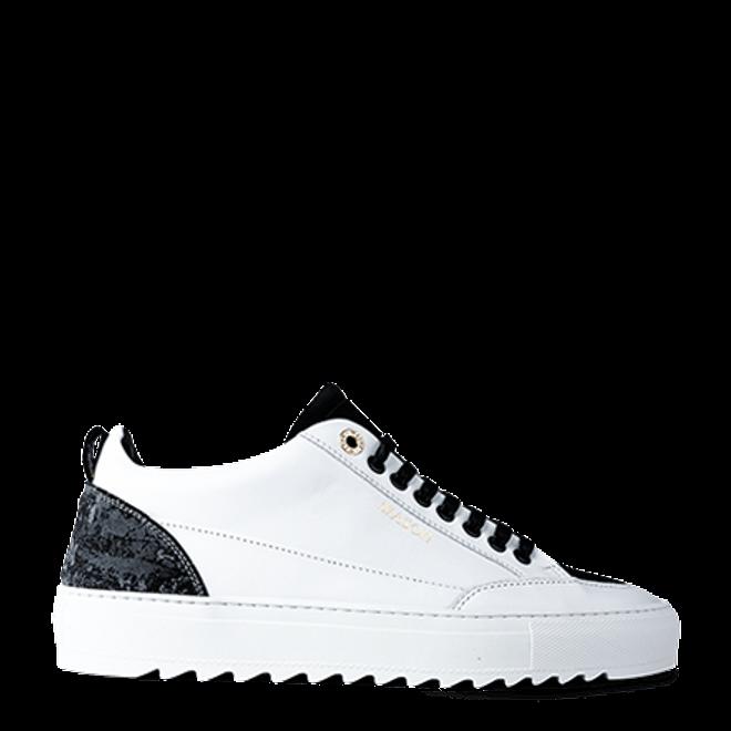 Mason Garments Tia Leather/Suede/Reflective White/Black