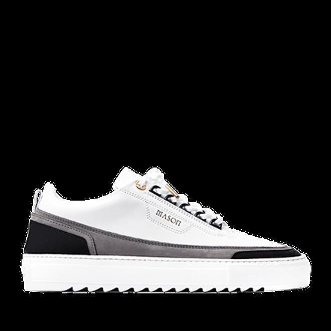 Mason Garments Firenze Leather/Nubuck/Suede White/Grey/Black