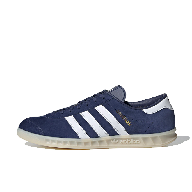 adidas Originals Hamburg 'Tech Indigo' zijaanzicht
