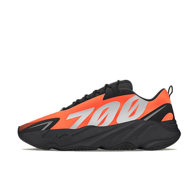 adidas Yeezy Boost 700 MNVN 'Orange' - Only in Shanghai, Paris & L.A. FV3258