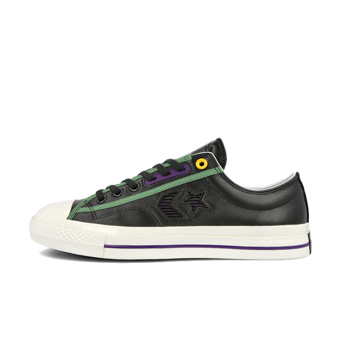 Converse Star Player Ox 'Black' zijaanzicht