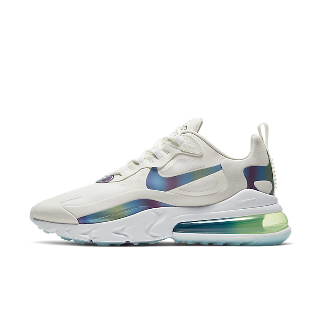 Nike Air Max 270 React Bubble Pack 'White' zijaanzicht
