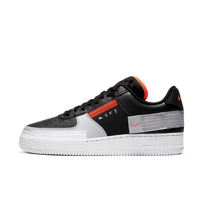 Nike Air Force 1 Type 'Black/Hyper Crimson'