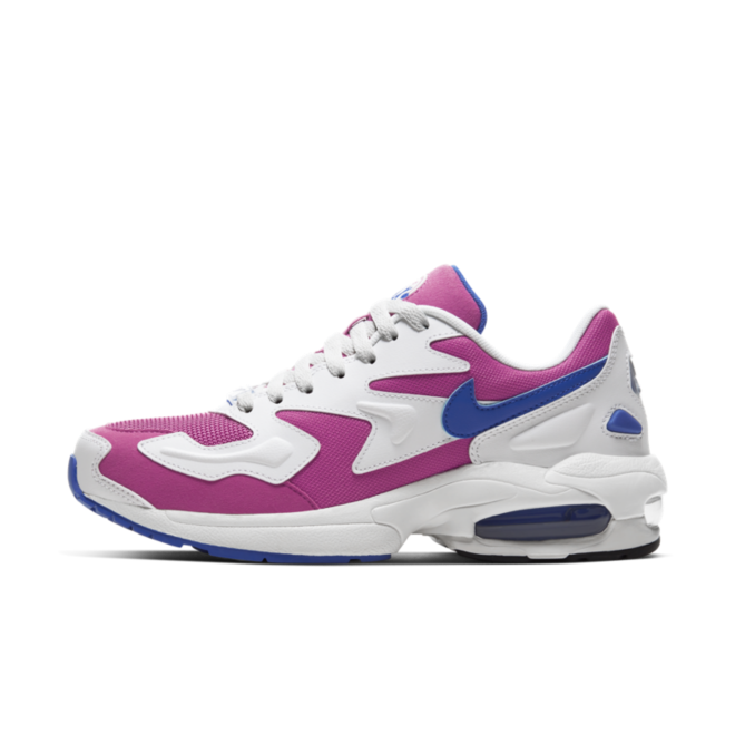 Nike Air Max 2 Light 'Blue/Pink' zijaanzicht