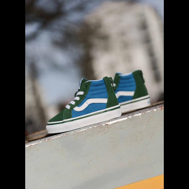 Vans Sk8-hi zip Green/Blue TS
