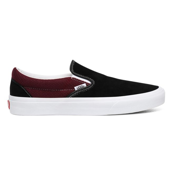Vans Classic Slip-On Mens Black / Port Royale Trainers