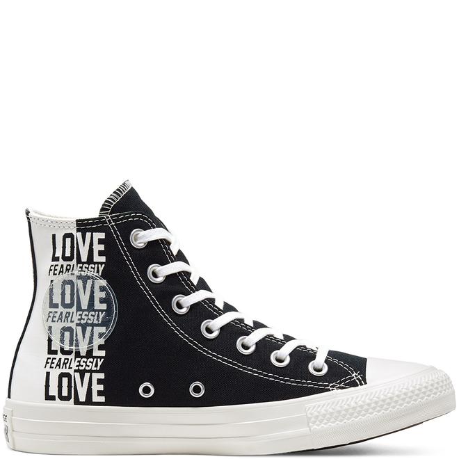 Love Fearlessly Chuck Taylor All Star High Top Schoen