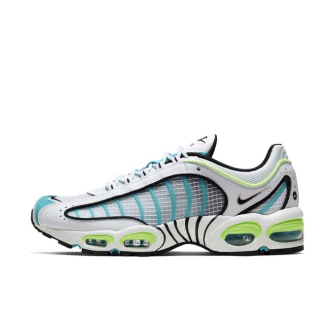 Nike Air Max Tailwind 4 'White/Teal' zijaanzicht